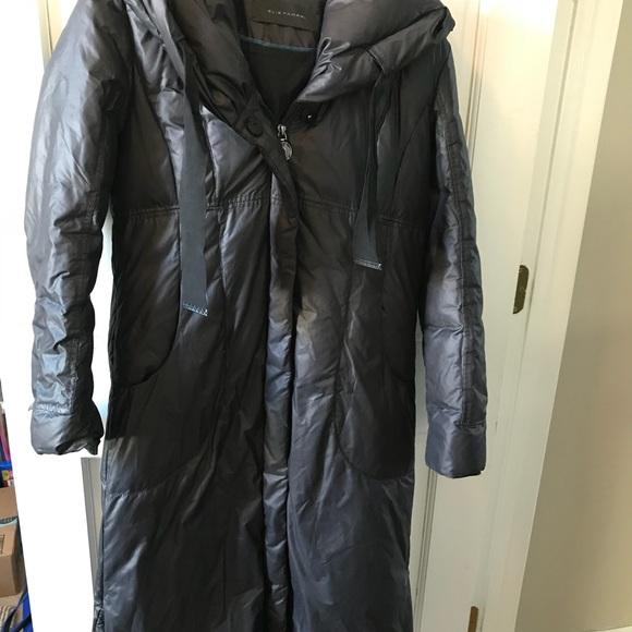 Elie Tahari Jackets & Blazers - Maxi Length Elie Tahari Down Coat Black M